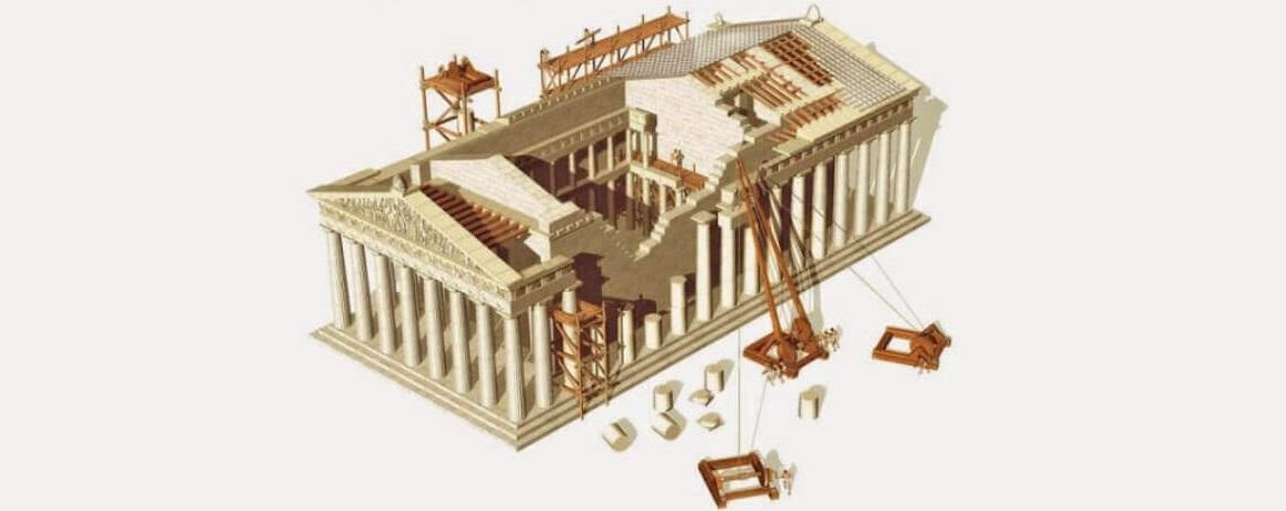 reconstrucción-partenón-de-Atenas