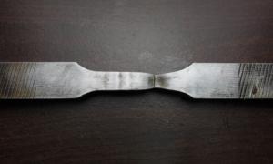 Ejemplo de fragmentación en los materiales metálicos./ UC3M