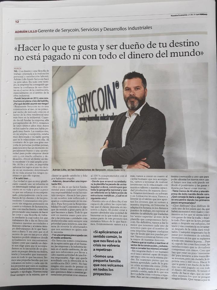 Adrian Serycion La Verdad